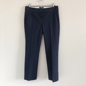 🆕 NWT J. Crew Campell Navy Capri Pant in Stretch